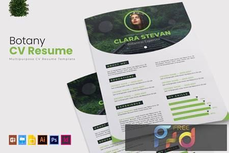 Botany - CV & Resume 35L6FDT 1