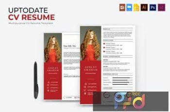 Uptodate - CV & Resume TB2CANV 6