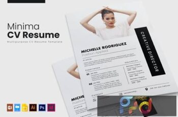 Minima - CV & Resume AACR36Y 6