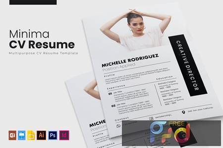Minima - CV & Resume AACR36Y 1