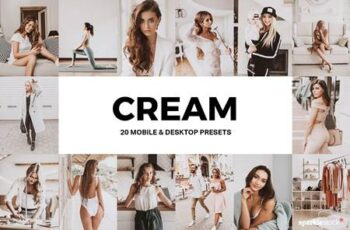 20 Cream Lightroom Presets and LUTs 4938546