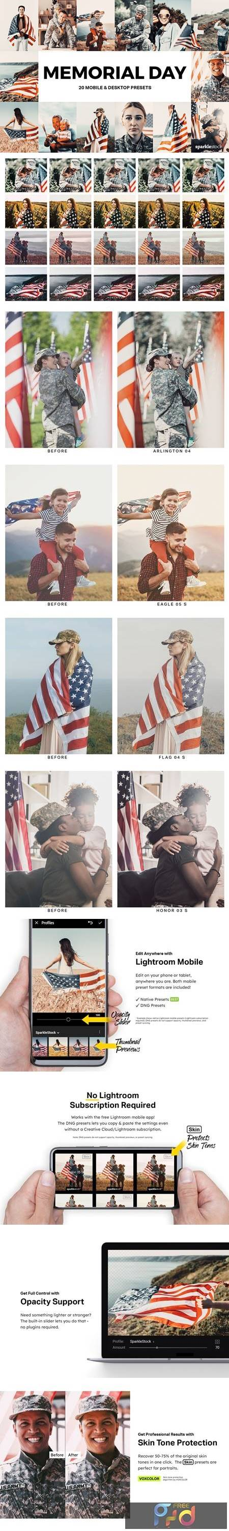 20 Memorial Day Lightroom Presets and LUTs 4939185 1