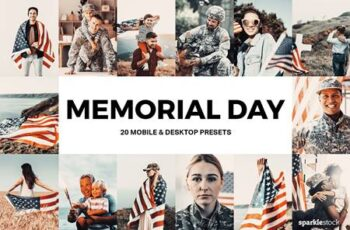 20 Memorial Day Lightroom Presets and LUTs 4939185 6