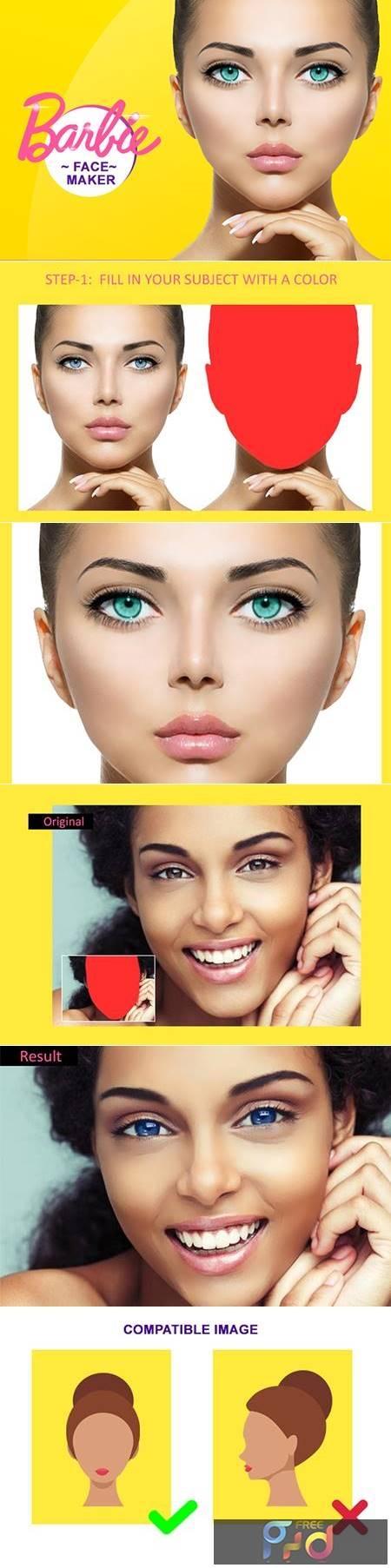 Barbie Face Maker PS Action 4871594 1
