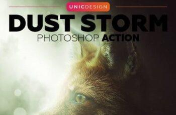 Dust Storm Photoshop Action 18711304 7