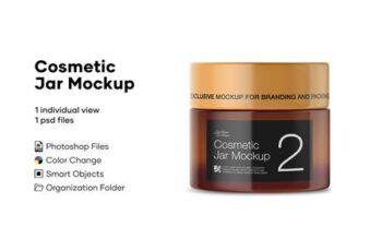 Cosmetic Jar Mockup 4888304 7