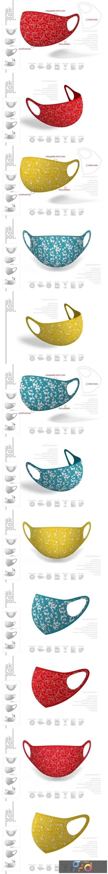 Face Mask Mockup 4861080 1