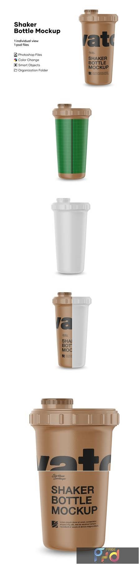 Matte Metallic Shaker Bottle Mockup 4889093 1