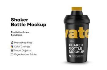 Shaker Bottle Mockup 4889119 5