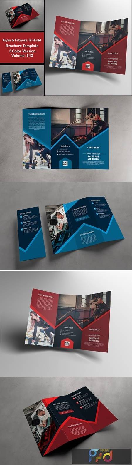 Fitness Gym Trifold Brochure 4664169 1