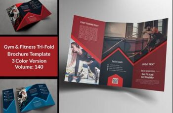 Fitness Gym Trifold Brochure 4664169 7