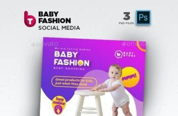 Baby Fashion Social Media Pack 26435839 4