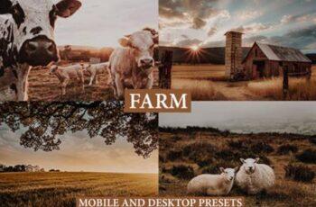 Cinematic Farm Mobile & Desktop Presets 4127575 2