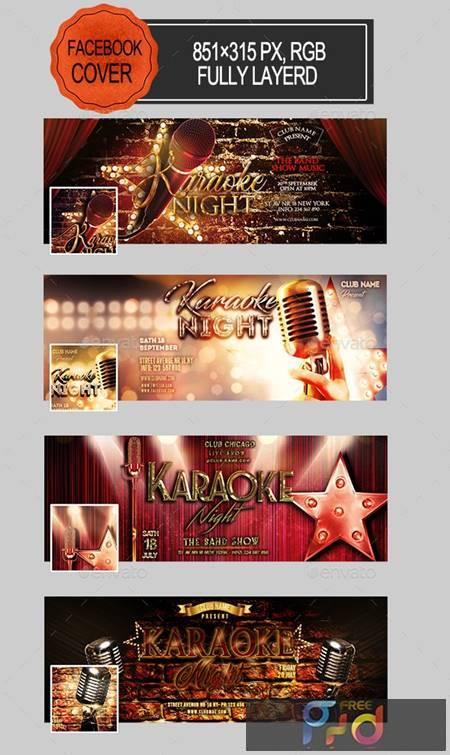 Karaoke Night Facebook Covers 26440797 1