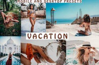 Travel Tones Mobile and Desktop Presets 4128045