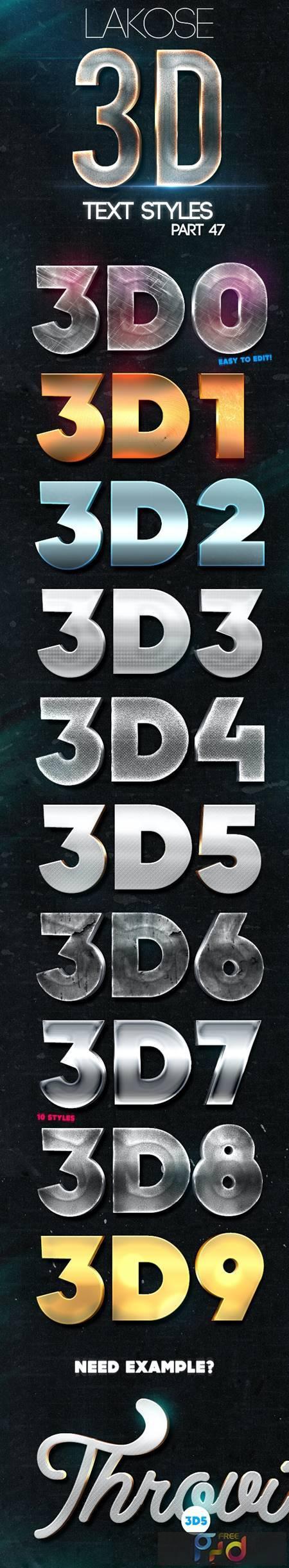 Lakose 3D Text Styles Part 47 24220050 1