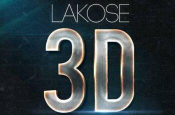 Lakose 3D Text Styles Part 47 24220050 7