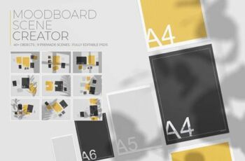 Moodboard Scene Creator 4575067 4