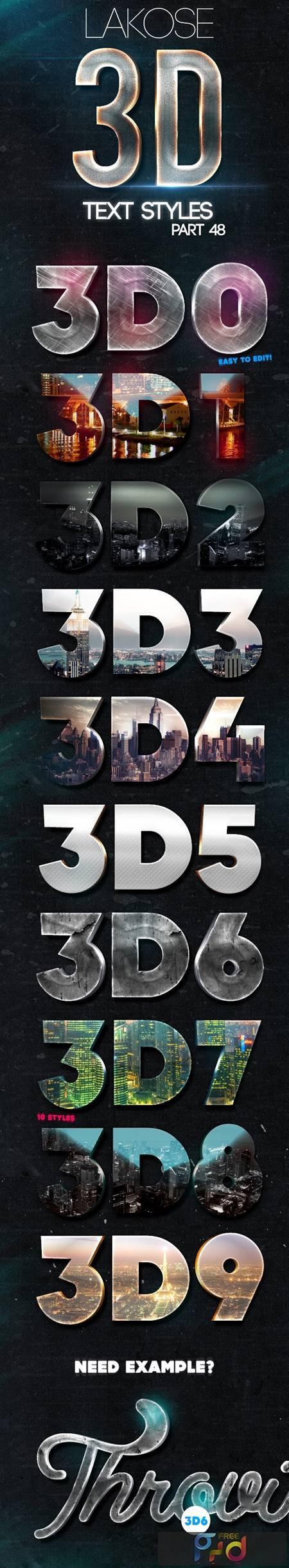 Lakose 3D Text Styles Part 48 24493556 1