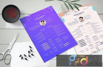 Creative Resume CV PTUBTHT 3