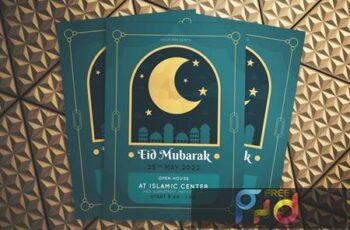 Eid Mubarak Flyer SN3Q3MN 3