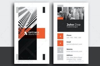 Minimal Creative Business Card 26511835 6