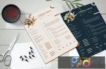 Resume CV Template DJ6CEWZ 6