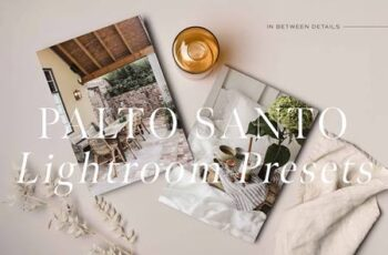 Palo Santo Lightroom Presets 4935899