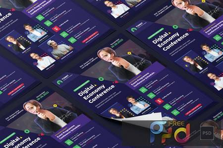 Conference Flyer PSD Template Y5LPL9R 1