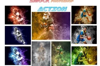 Smock Photoshop Action 4640009 3