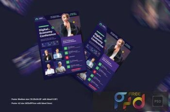 Conference Poster PSD Template ZWFMX3R 2