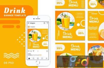 Drink Banners Templates SY4MHJP 7