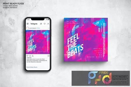 Event Square Flyer & Social Media Post Design 6LJ4EBW 1