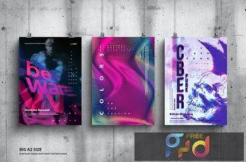 Music Event Big Poster Design Set UWCGY9H 5