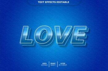 3d text effect 2 2