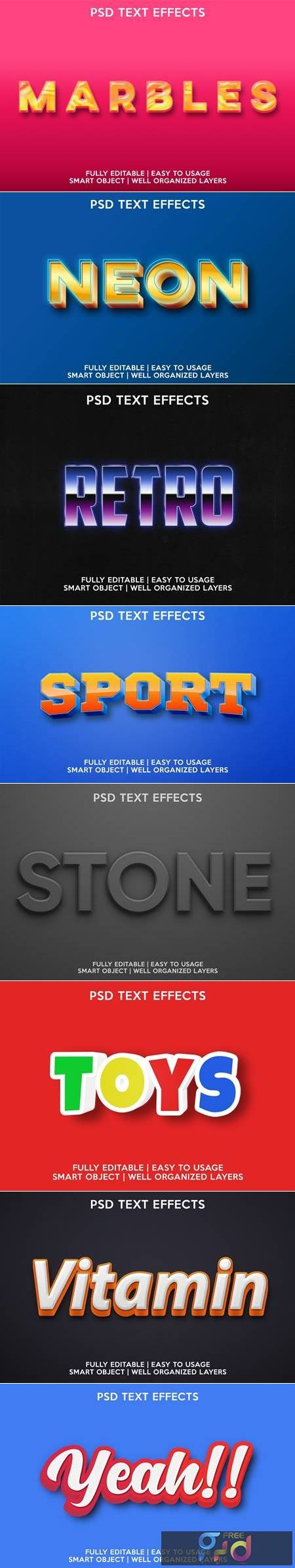 Text effect 2 1
