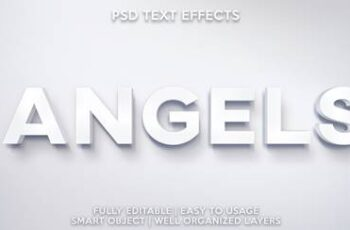 TEXT EFFECT PSD 3