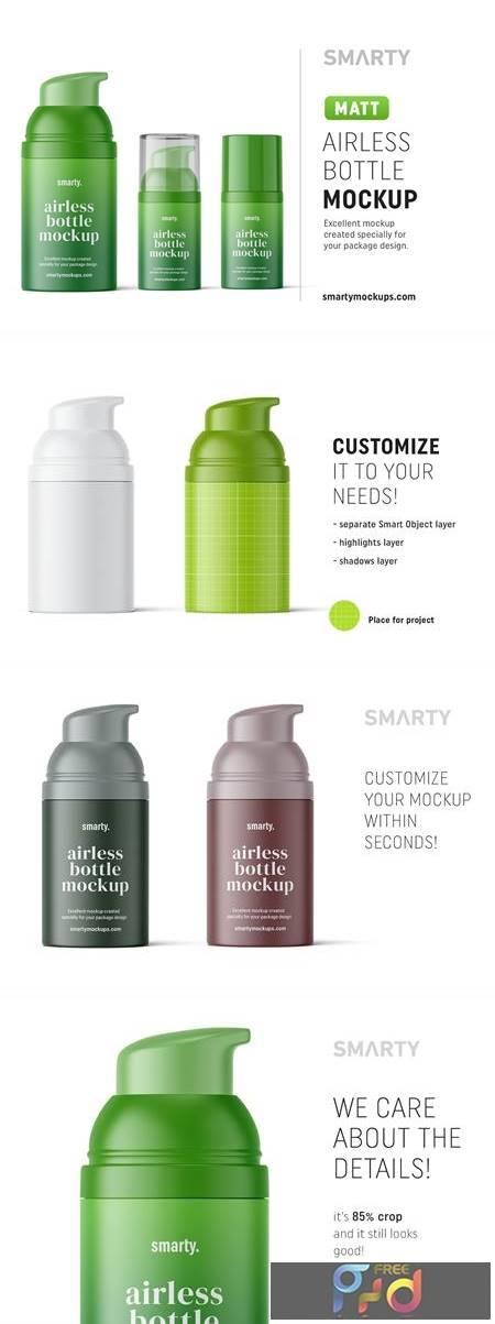 Matte airless bottle mockup 4850583 1