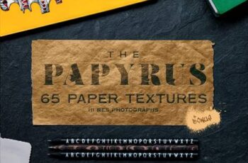 The Papyrus - 65 Paper Textures 4930218 4