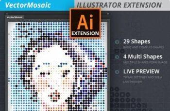 Vector Mosaic 21010337 7