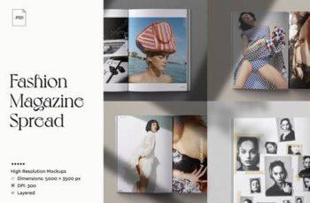 Magazine Spread Mockup 3739343 5