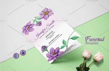 Funeral Program Template - V1002 4536045 7