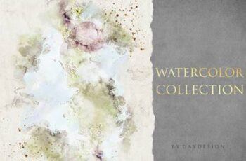 Abstract Watercolor Collection Graphic 4088371