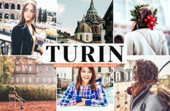 Turin Mobile & Desktop Lightroom Presets 4160165 6