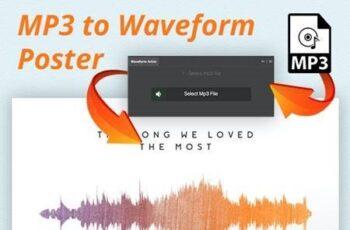 Waveform Artist - MP3 to Waveform Poster 20644757 2