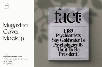 Magazine Cover Mockup 3748554 2