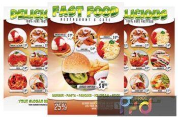 Fast Food Menu 3990308 1