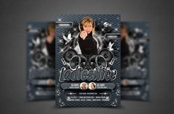 Ladies Nite Flyer Template 4039448 5