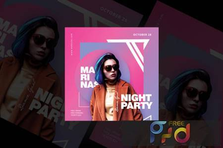 Night Party Flyer Templates 1682706 1