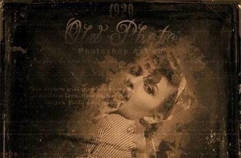 1920 Old Photo Photoshop Action 26572780 15